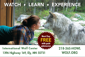 wolf center ely mn